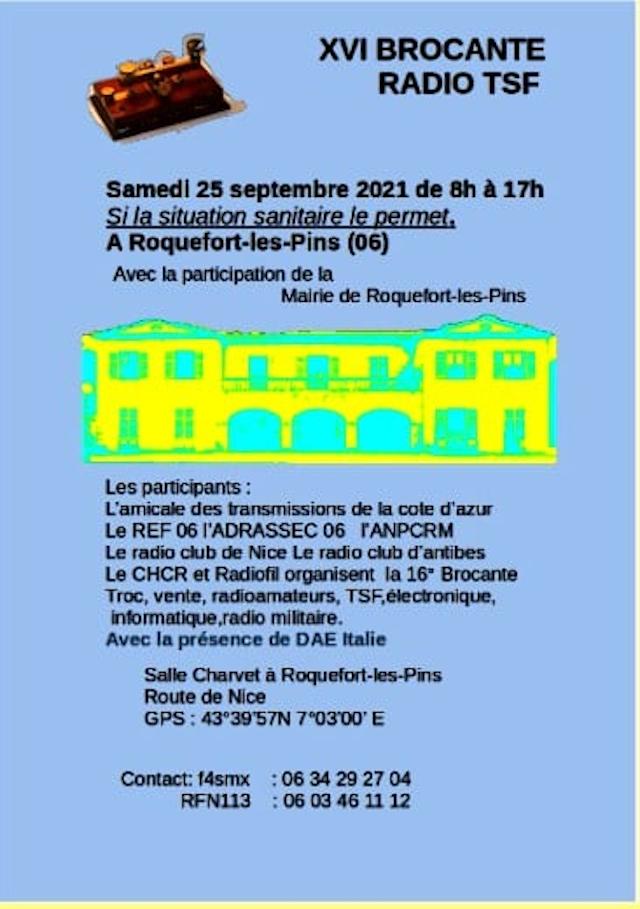 Tag roquefort-les-pins sur La Planète Cibi Francophone 29165110