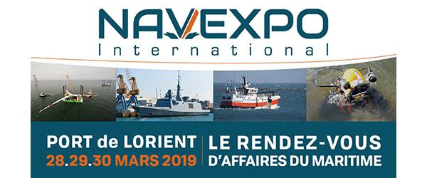 Salon NAVEXPO 2019 avec Icom France - au Port Lorient (dpt.: 56) (28, 29, 30/03/2019) 307-2010