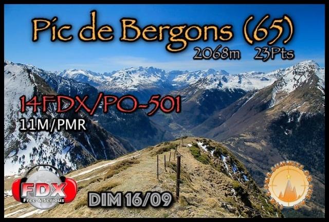 14FDX/PO501 - Pic du Bergons - New one 11m and PMR SOTA Tour  (16/09/2018 +/- 12h00) 41460010