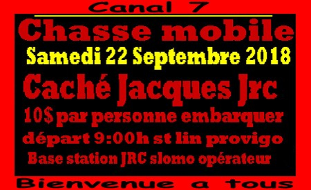Chasse mobile Canal 7 (Québec) (22 Septembre 2018) 45918110