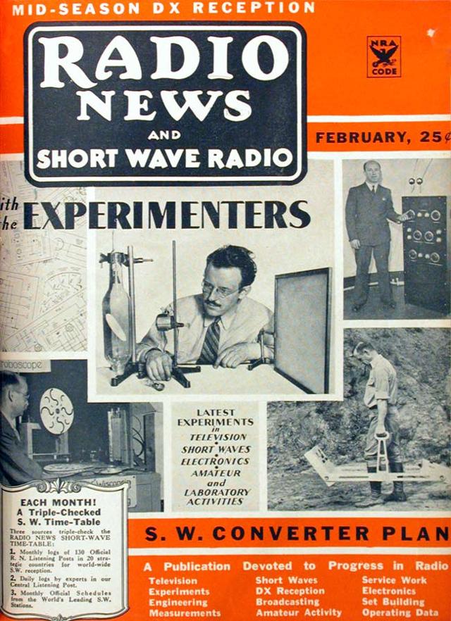 Radio News / Radio Amateur News / Radio & Television News (Magazine (USA) 50647910
