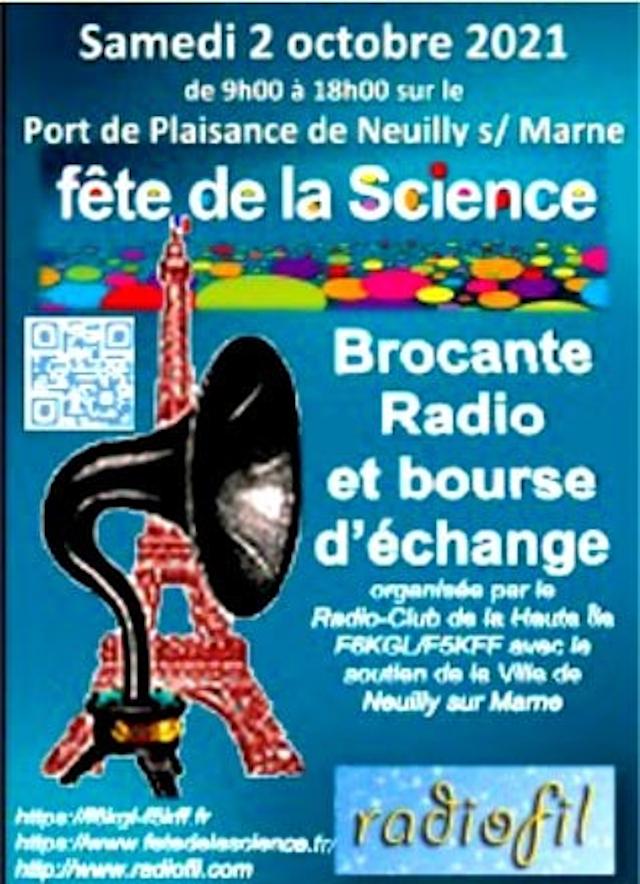 Fête de la Science - Brocante Radio et bourse d'échange Neuilly sur Marne (93) (02 Octobre 2021) 58548510