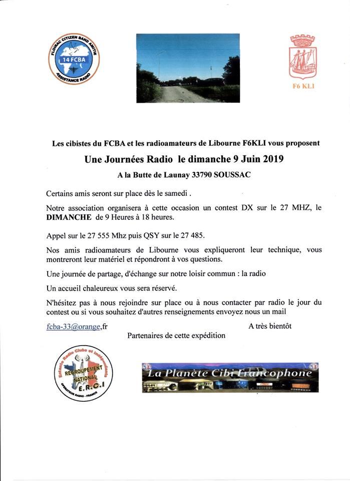 Tag expédition sur La Planète Cibi Francophone 60334211