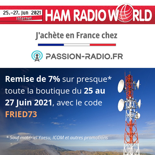 (Salon virtuel) HAM RADIO World - Allemagne (25 au 27 Juin 2021) 60d4ad10