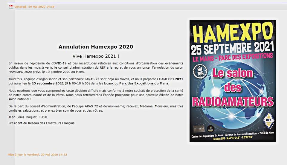 [Annulée] Hamexpo au Mans (72) (10 octobre 2020) 82023810