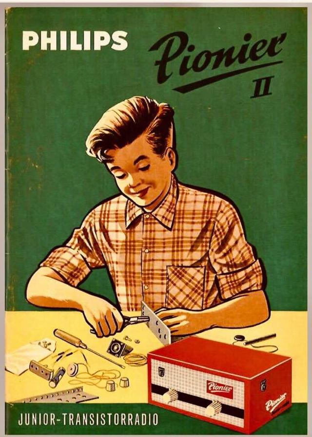 """II - Philips Pionier' II (""""Junior"""" kits) 90554311"""