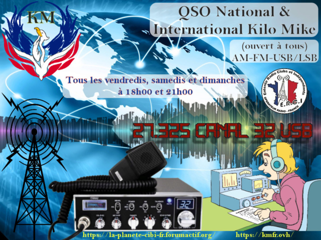 Fréquence officielle KM ! & QSO National & International Kilo Mike (ouvert à tous) - Page 42 Affic141