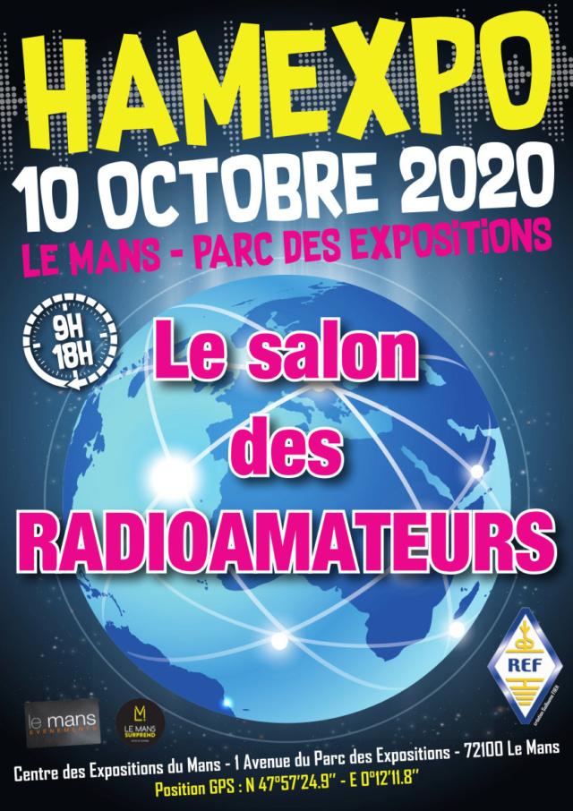 [Annulée] Hamexpo au Mans (72) (10 octobre 2020) Affich73