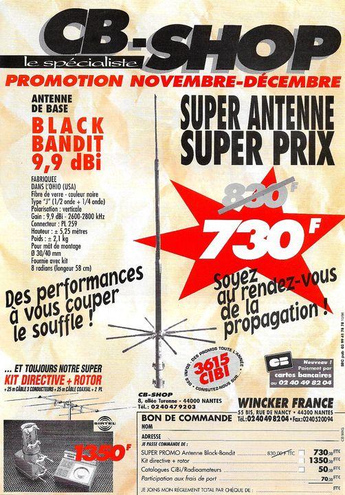 Black Bandit (Antenne fixe) Affich99