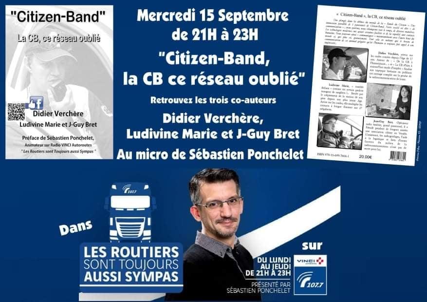 « Citizen Band » La cibi ce réseau oublié !  (Livre) Annonc10