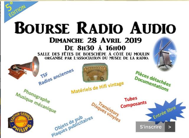 Bourse Radio et Audio à Boeschèpe (59) Dimanche (28/04/2019) Bourse10