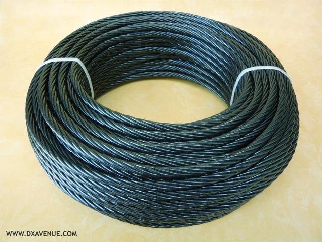 Câble isolant 7,5 mm haubanage pylône Cable-13