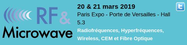 RF Microwave Paris Expo - Porte de Versailles - Hall 5.3 (20 au 21/03/2019)  Captu172