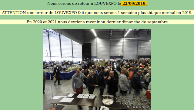 Foire Louvexpo 2019 à la Louvière (Belgique) (22/09/2019) Captu173