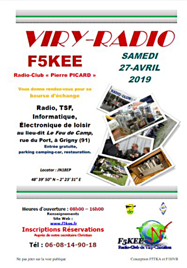 Brocante Viry-Radio 2019 - F5KEE Grigny (91)  (27 avril 2019) Captu185