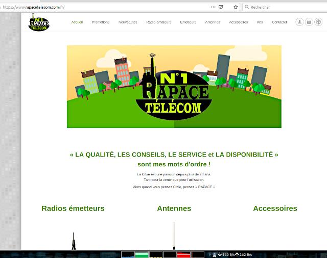 n°1 Rapace Télécom (Belgique) Captu319