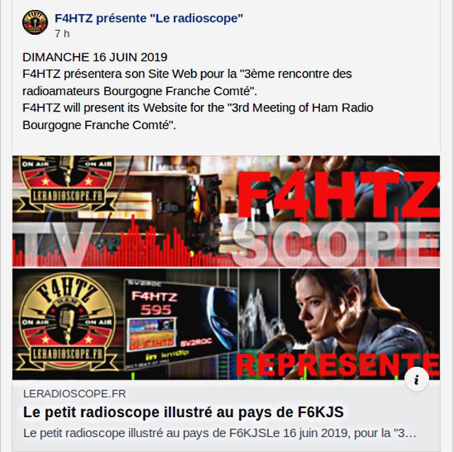 Tag radioamateurs sur La Planète Cibi Francophone Captu338
