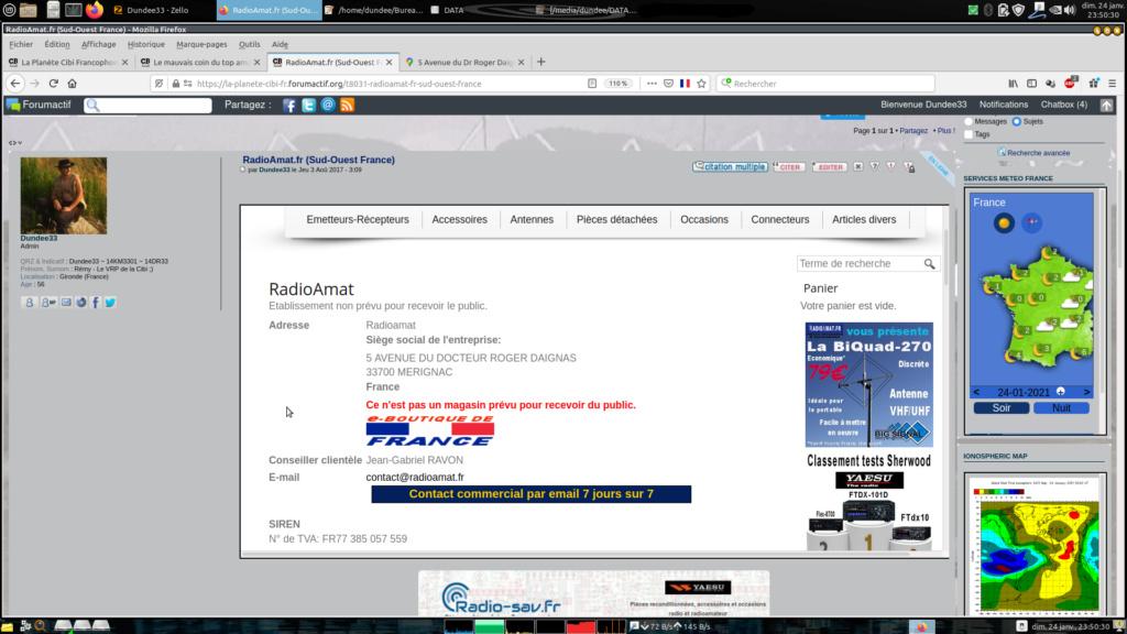 RadioAmat.fr (Sud-Ouest France) Captu448