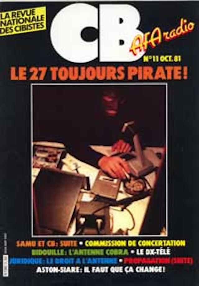 CB 'La revue mensuelle des Cibistes' (Magazine (Fr) Cb1110