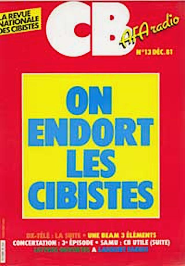 CB 'La revue mensuelle des Cibistes' (Magazine (Fr) Cb1310