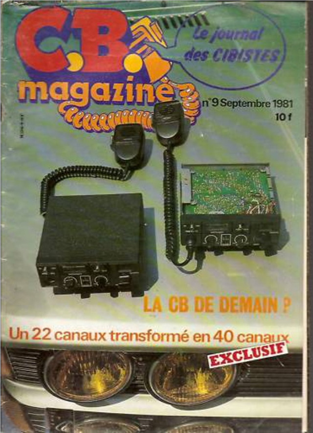 C.B. Magazine - Radio C.B. Magazine (Magazine (Fr.) - Page 7 Cb_mag20