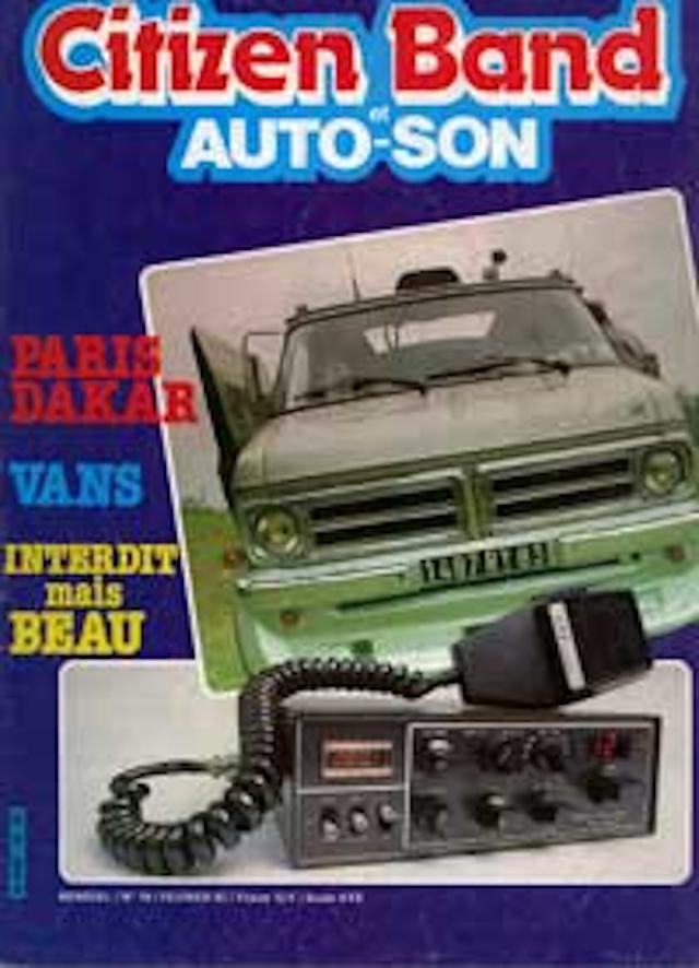 Citizen Band et Auto-Son et du Son (Magazine (Fr.) Citize24