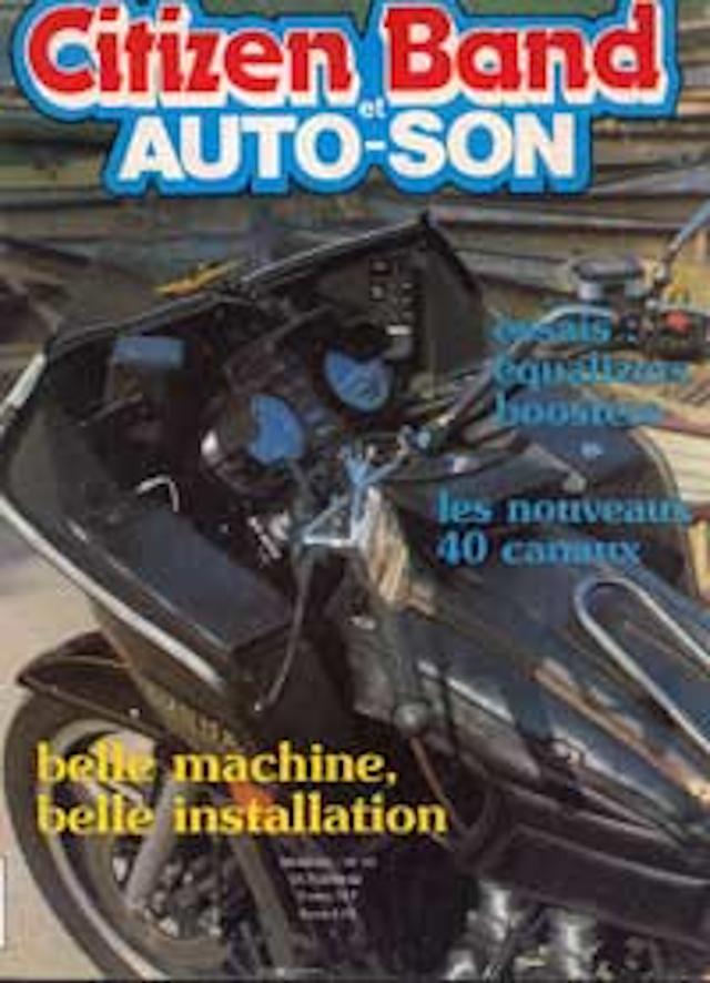 Citizen Band et Auto-Son et du Son (Magazine (Fr.) Citize28