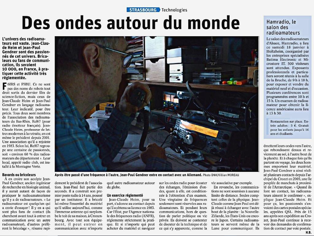 Le salon des Radioamateurs de Strasbourg-Holtzheim (Alsace) (18/01/2020) Des_on10