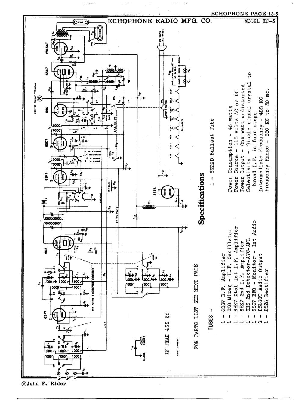 Hallicrafters / Echophone EC-1 Echoph12