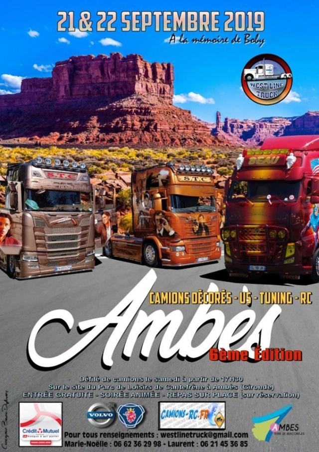 Rassemblement West Line Truck 21 & 22 Septembre 2019 à Ambès en Gironde Expos_10