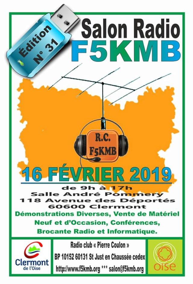 31 ème Salon Radio de Clermond sur Oise par RC F5KMB (16/02/2019) F5kmb-10