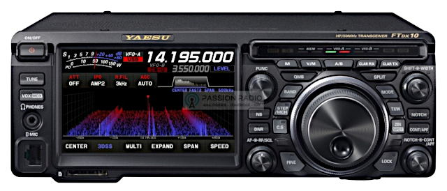 Yaesu FTdx10 Ftdx-111