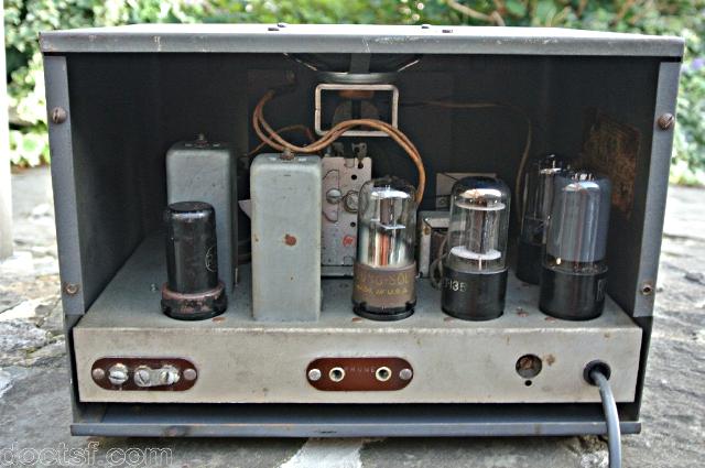 Hallicrafters / Echophone EC-1 Hallic12