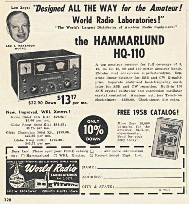 Hammarlund HQ-110 Hammar11