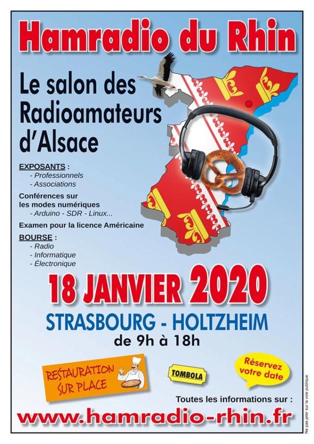 Le salon des Radioamateurs de Strasbourg-Holtzheim (Alsace) (18/01/2020) Hamrad10
