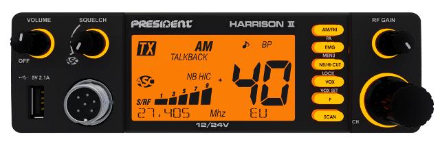 President Harrison II ASC (Mobile / Routier) Harris10