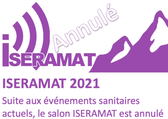 (Annulé) Salon Iseramat à Tullins (38) (22/05/2021) I2021a10
