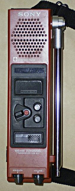 Sony ICB-610T (Portable) Icb61010