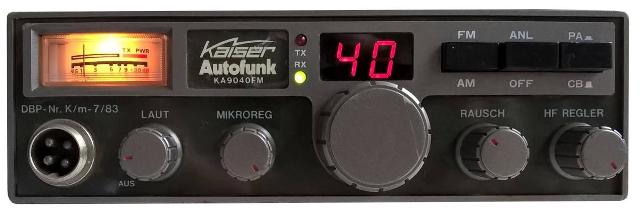 Kaiser Autofunk KA9040FM (Mobile) Kaiser10