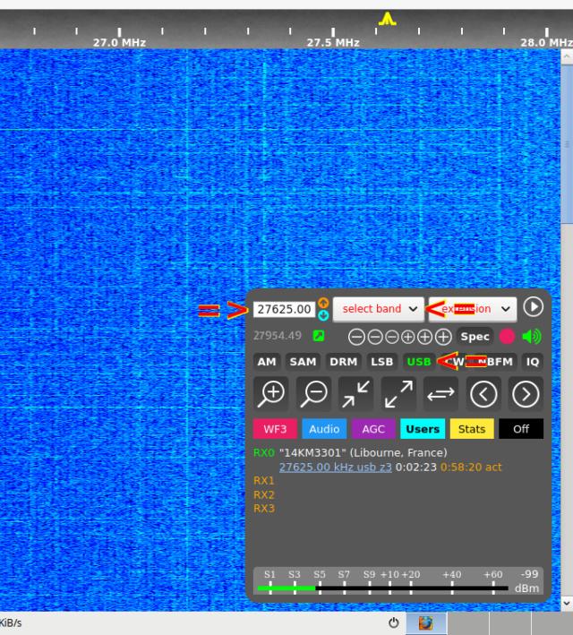 WebSDR 11m + bande déca. (SWL) - Page 3 Kiwisd11