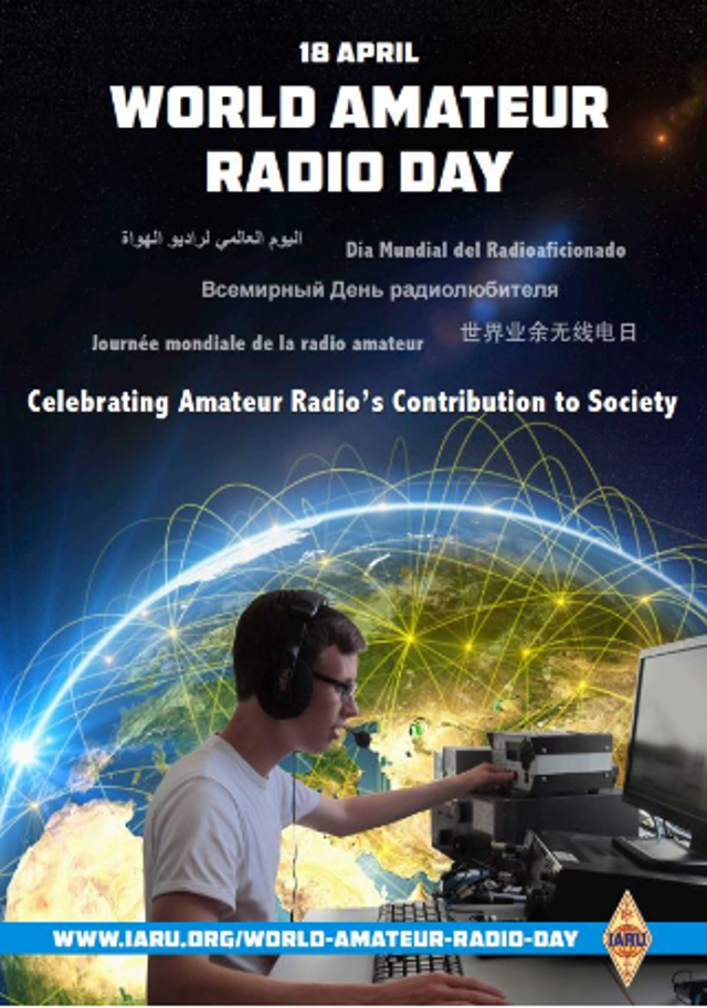 La Journée mondiale des radioamateurs 2019 marque la fondation de l'Union internationale Radios amateurs (18/04/2019) La_jou10