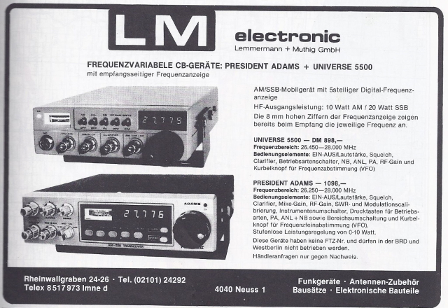 Palomar SSB 5500 VFO (Mobile) Lm_ele10