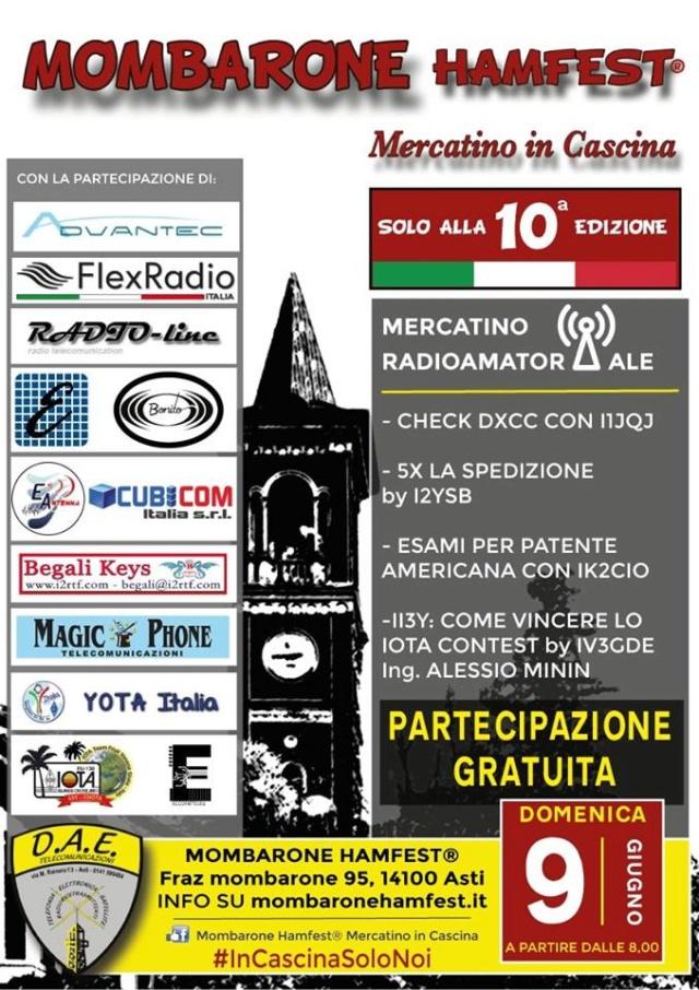 Mombarone Hamfest 2019 (Italie) (09/06/2019) Mombar10
