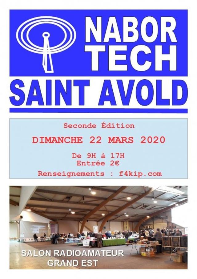 [Annulé] Second salon RadioAmateur NaborTech (57) 22 Mars 2020 Nabort10
