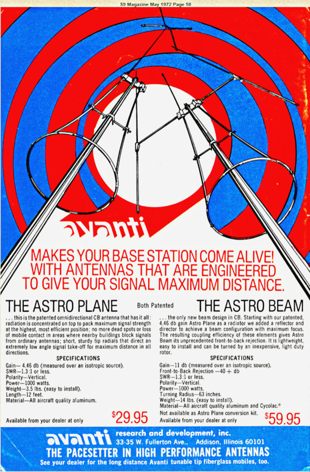 Avanti Astro-Beam (Antenne fixe Directive/Vertical) Page_110