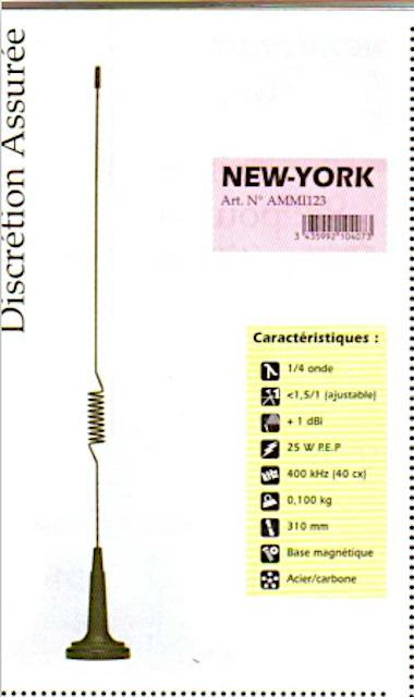 President New-York (Antenne mobile) Presid75