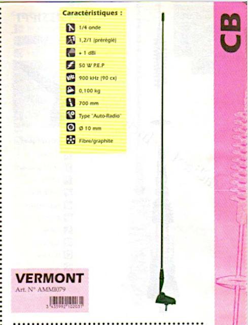 President Vermont (Antenne mobile) Presid79