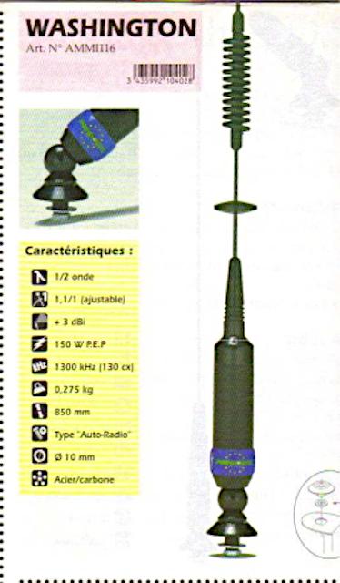 President Washington (Antenne mobile) Presid80