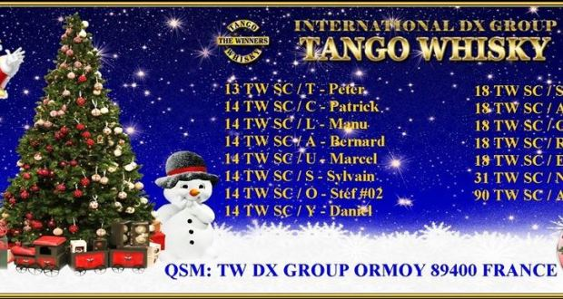 TANGO WHISKY DX GROUP (89) Qsl10