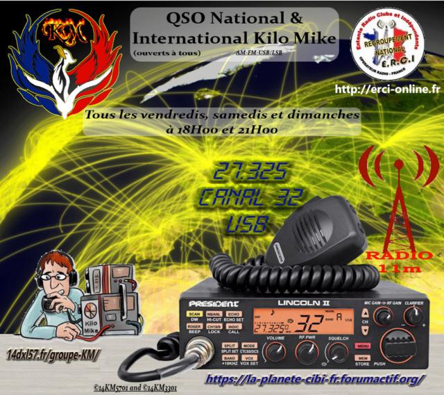 Fréquence officielle KM ! & QSO National & International Kilo Mike (ouvert à tous) Qso_n112
